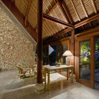 Take a 360° View of The Lobby Area - The Oberoi, Bali