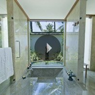 Take a 360° View of The Luxury Bathroom in The Luxury Villa at The Oberoi, Bali