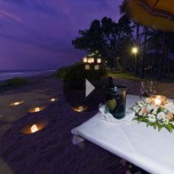 Take a 360° View of The Romantic Private Dining by The Beach - The Oberoi, Bali
