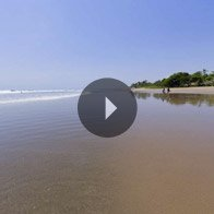 Take a 360° View of The Seminyak Beach at The Oberoi, Bali