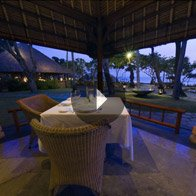 Take a 360° View of The Restaurant - The Oberoi, Bali