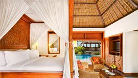 Luxurious Conveniences, 24-Hour In-Room Dining, High Speed Wi-Fi, DVD Player & Electronic Safe at The Oberoi, Bali