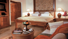 Luxuriously Spacious Accommodation - Highlight of The Luxury Lanai Rooms at The Oberoi, Bali