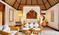 Royal Villa With Master Bedroom, Private Pool, Living Room, Kitchen & Open Air Dining Space at The Oberoi, Bali