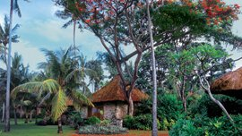 Natural Paradise - Traditionally Thatched Rooms With Wooden Ceilings & Natural Fabrics at The Oberoi, Bali