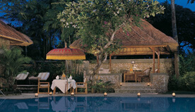 The Royal Villa With Private Pool, Dining Pavilion, Living Space & Private Butler Service at The Oberoi, Bali