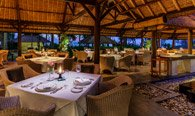 Kura Kura Restaurant, Thatched, Open-Air, Fine Dining Space at The Oberoi, Bali
