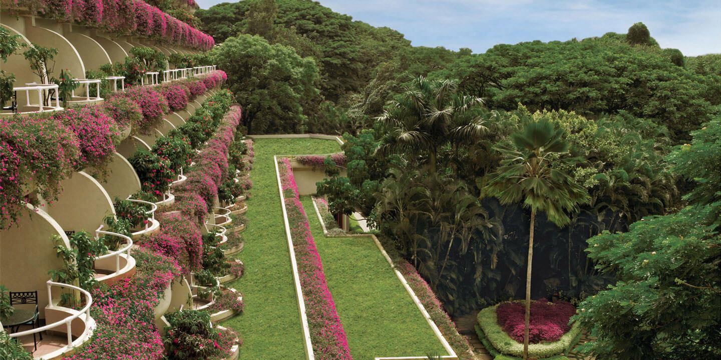 Beautiful Garden at The Oberoi, Bengaluru