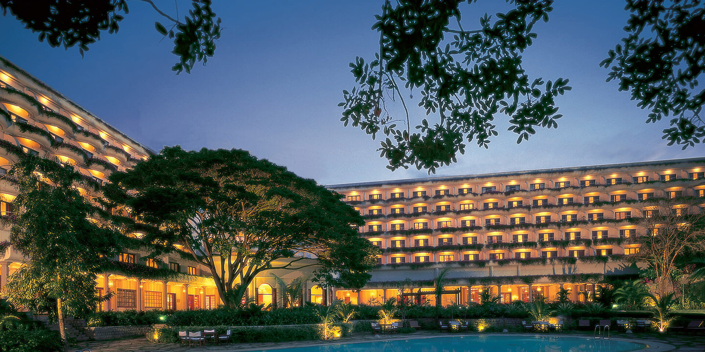 Luxury Hotels In Bengaluru Evening View Of The Oberoi