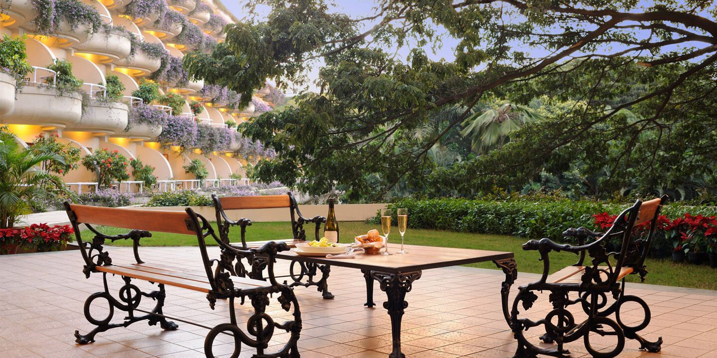 Presidential Suite Terrace at The Oberoi, Bengaluru