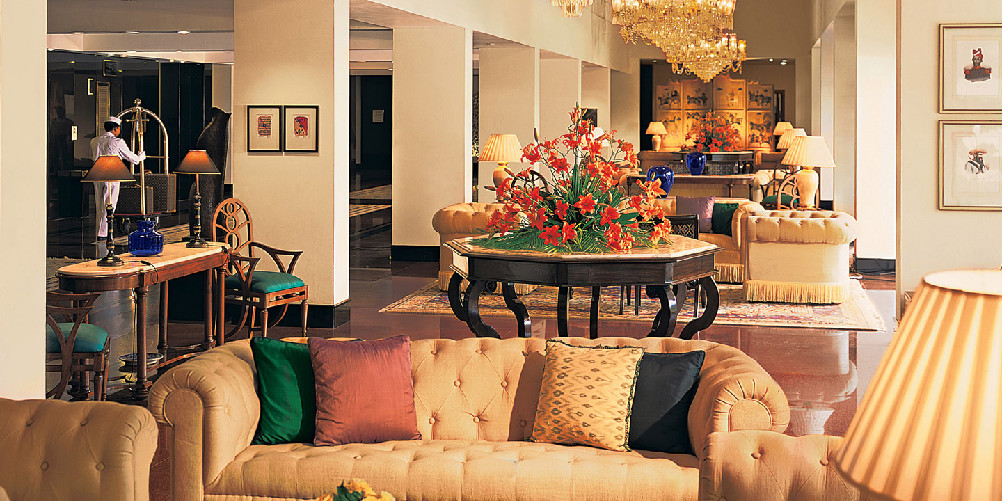 Lobby at The Oberoi, New Delhi