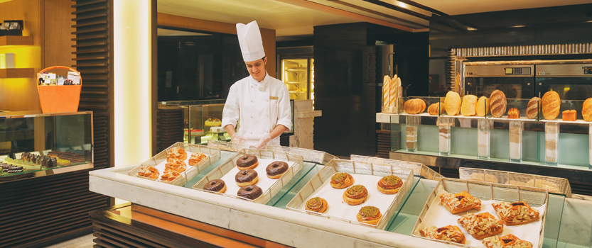 The Oberoi Patisserie & Delicatessen for Cakes, Muffins, Pastries & Fresh Baked Breads - The Oberoi, New Delhi