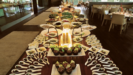 Sunday brunch at Threesixty° at The Oberoi, New Delhi
