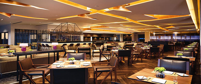 Threesixty°, The All-day Multi-Cuising Restaurant at The Oberoi, New Delhi