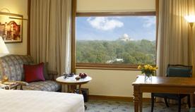 Spectacular Views of The City & Mughal Domes - The Deluxe Rooms at The Oberoi, New Delhi