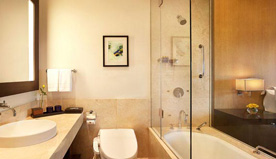 Bath in Luxury in The Deluxe Suites at The Oberoi, New Delhi