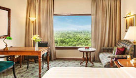 Uninterrupted Views of The City, Parks & Mughal Domes - The Deluxe Suites at The Oberoi, New Delhi