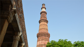 Qutab Minar, Weekend Getaways in Delhi - The Oberoi, New Delhi