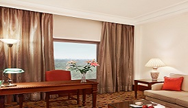 Stunning Views of The Delhi Golf Course From The Executive Suites at The Oberoi, New Delhi