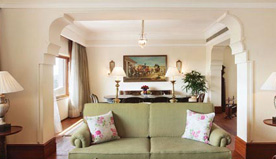 Each Luxury Suites in Colonial, Ancient, Princely Rajasthan & India's Native Themes at The Oberoi, New Delhi