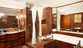 Bath in Luxury in The Luxury Suites at The Oberoi, New Delhi