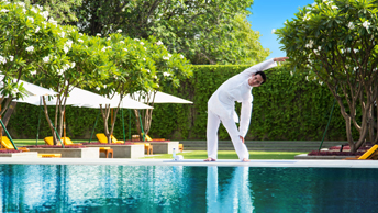 Indoor & Temperature Controlled Outdoor Pools - Luxury Spa at The Oberoi, New Delhi