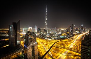 Take 360° View of The City From Burj Khalifa, World's Tallest Building - Weekend Getaways - The Oberoi, Dubai