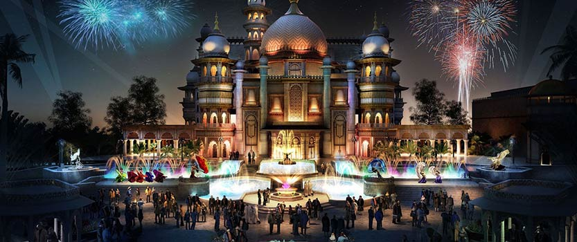 Dubai Parks and Resorts Visit