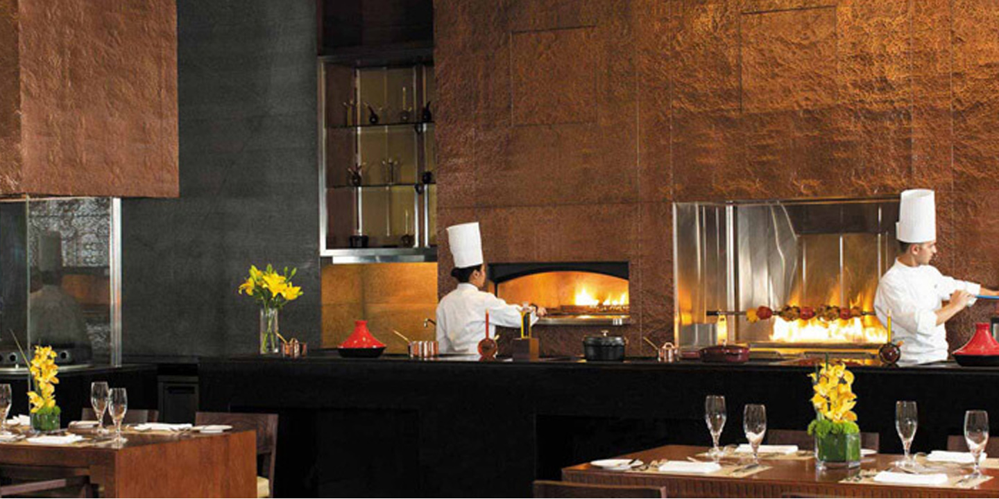 Nine7One - Luxury Dining In a Private Courtyard Serving Arabic, Asian & Western Cuisine at The Oberoi, Dubai