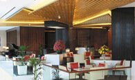 The Lobby Lounge - The All-Day Restaurant for Business & Social Meetings at The Oberoi, Dubai