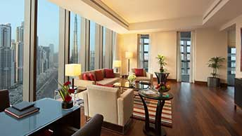 Upgrade For an Experience of Elegance - Two or Three Bedroom Family Suite at The Oberoi, Dubai