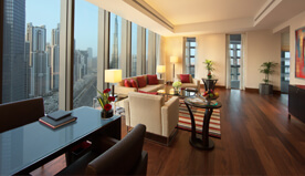 Luxury Suite With Balcony, Dining, & Personal Bar - The Oberoi, Dubai