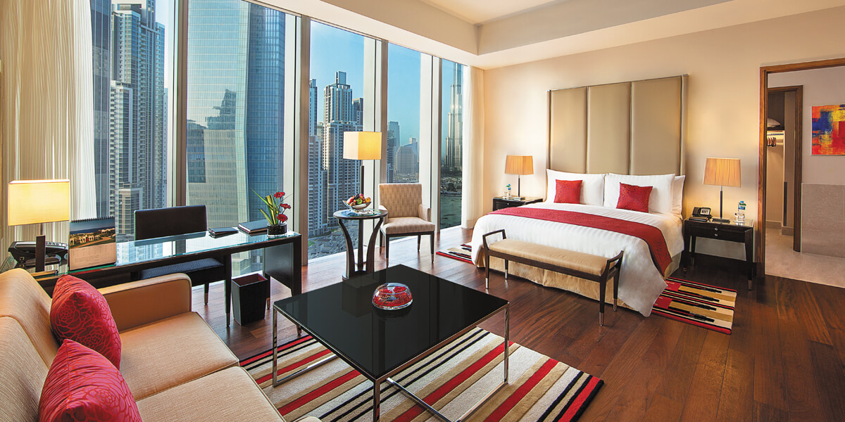 Premier Room Viewing Burj Khalifa at The Oberoi, Dubai