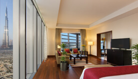 Furnished in Pure Luxury - The Presidential Suite at The Oberoi, Dubai