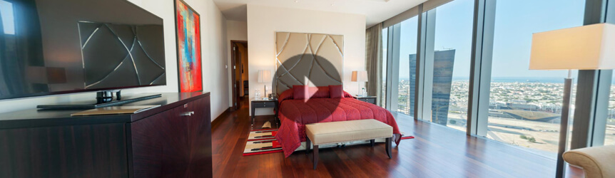 Take a 360° View of The Presidential Suite at The Oberoi, Dubai
