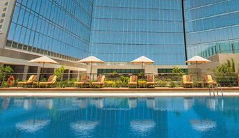 Temperature-Controlled Outdoor Heated Swimming Pool at The Oberoi, Dubai