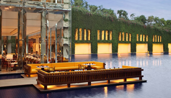 Dine on The Floating Deck at The Oberoi, Gurgaon
