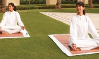 Learn The Ancient Healing Power of Yoga in The Gardens or in Private Session at The Oberoi, Gurgaon