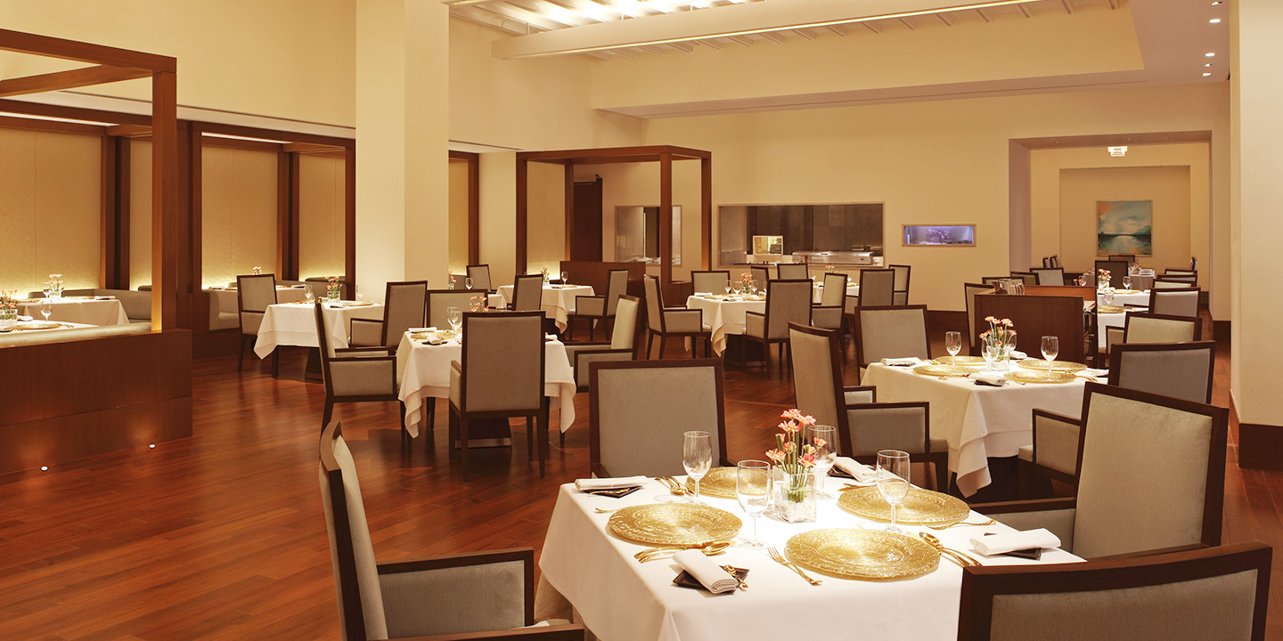 amaranta, The Indian Modern & Coastal Cuisine Restaurant - The Oberoi, Gurgaon