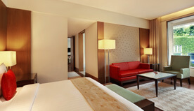 Elegantly Designed Are The Deluxe Suites at The Oberoi, Gurgaon