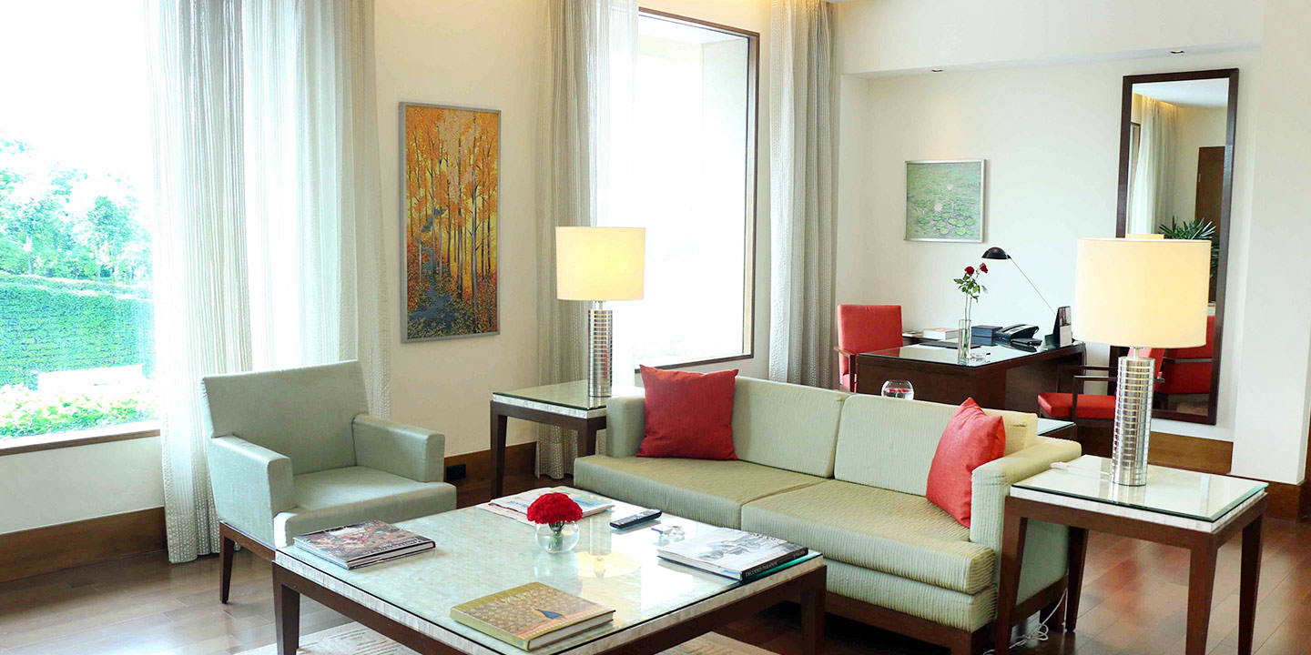 Luxury Deluxe Suites at The Oberoi, Gurgaon