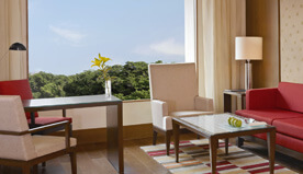 View Landscaped Maze Garden - Luxury Rooms at The Oberoi, Gurgaon