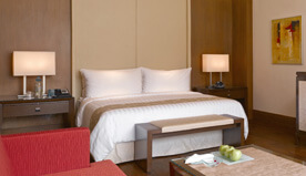 Spacious & Elegant are the Luxury Rooms at The Oberoi, Gurgaon
