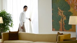 Rooms at The Oberoi, Gurgaon Provide Round The Clock Service That Include 24-Hour In-Room Dining & Personal Butler