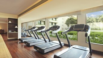 Cardiovascular & Strength Training Equipments - The Gym at The Oberoi, Gurgaon
