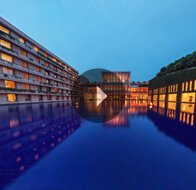 Take a 360° View of The Exterior & The Pool - The Oberoi, Gurgaon