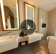 Take a 360° View of The Bathroom in Luxury Suites at The Oberoi, Gurgaon