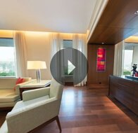 Take a 360° View of The Living Room in Luxury Suites at The Oberoi, Gurgaon