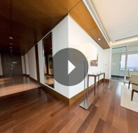 Take a 360° View of The Living Room in Premier Suites With Private Pool at The Oberoi, Gurgaon