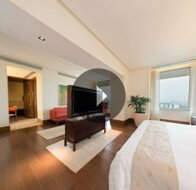 Take a 360° View of The Master Bedroom in Premier Suites With Private Pool at The Oberoi, Gurgaon